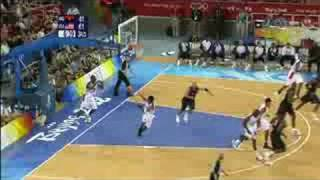 Angola vs USA - Men's Basketball - Beijing 2008 Summer Olympic Games