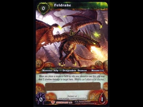 Warcraft TCG War of the Ancients Booster Box Feldrake Loot Pull (part 2)