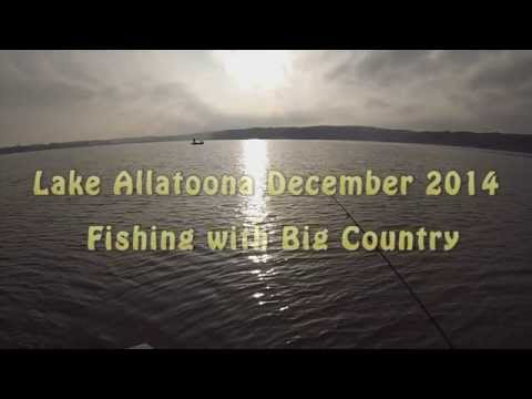 Fishing Lake Allatoona with Big Country 12/30/2014