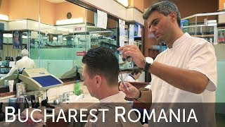💈 The Romania Frizebad Barbershop Bucharest Haircut Experience