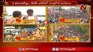 Mayor Bonthu Rammohan Face To Face Over Khairatabad Ganesh Immersion | NTV