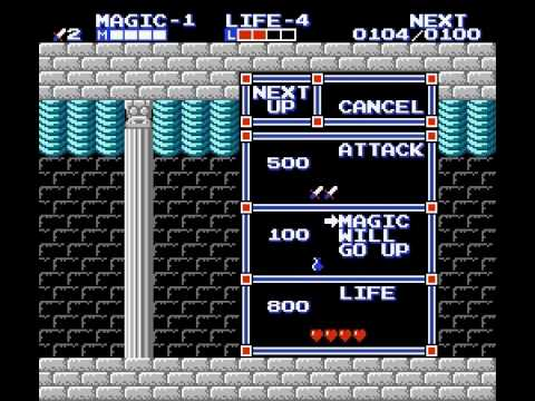 Zelda II - The Adventure of Link - Zelda 2: Adventure of Link first boss - User video