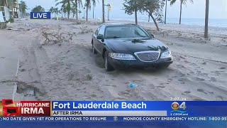 Ft. Lauderdale Beach Closed