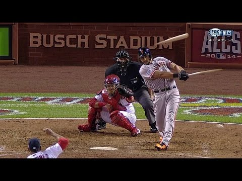 NLCS Gm2: Morse records first postseason hit of 2014
