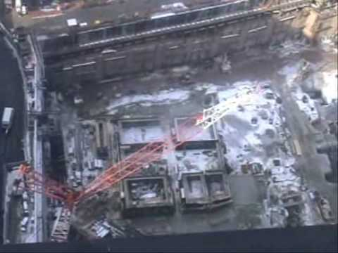 Freedom Tower Construction January 2009 -- Overview From Above video