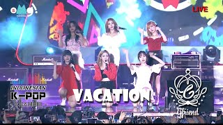 KOR + HANG  + FANCHAT  GFRIEND여자친구 - VACATION  Oh My GIG ! TELKOMSEL TV SHOW