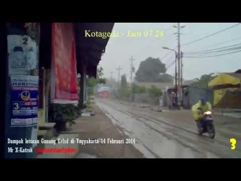 Documentary Films - Impact Kelud Volcano Eruption in Yogyakarta 14/02/2014