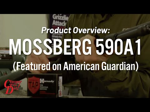 Mossberg 590A1 on American Guardian - Gun Locker