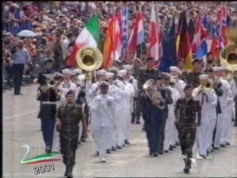 European & Nato Army Tribute - Military Parade in Rome