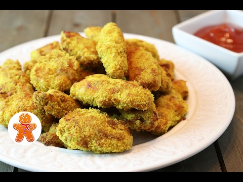 Наггетсы в Духовке Быстро и с Хрустящей Корочкой ✧ Chicken Nuggets in Oven (English Subtitles)