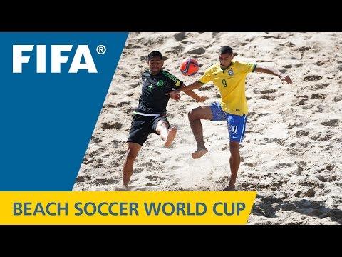 HIGHLIGHTS: Brazil v. Mexico - FIFA Beach Soccer World Cup 2015