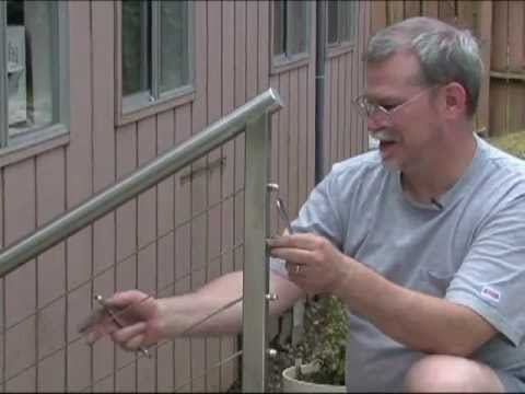Cable Railing Installation Youtube