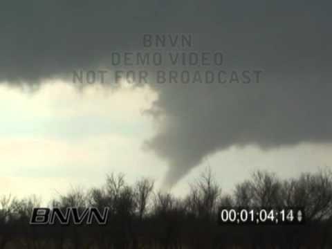 3/21/2005 Alfalfa County OK Tornado Stock Video