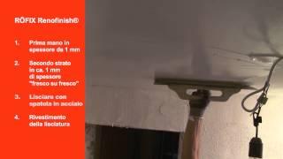 Video RÖFIX RENOFINISH® su RÖFIX TV