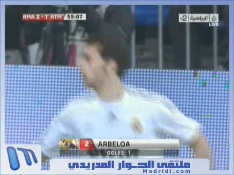 Alvaro Arbeloa's goal vs atlético after a stunning long pass from Xabi Alonso