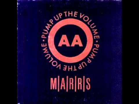 MARRS - Pump Up The Volume (UK 12&quot; Remix)