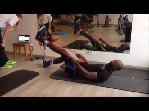 Hinter den Kulissen: beim Athletik-Training von medi bayreuth