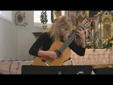Jessica Kaiser (16) interprets Rondo brillante op.2/2 by Dionisio Aguado