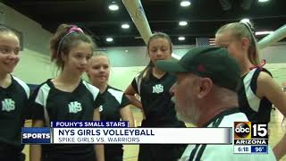 Fouhy's Small Stars -- First-ever volleyball edition! - ABC15 Sports