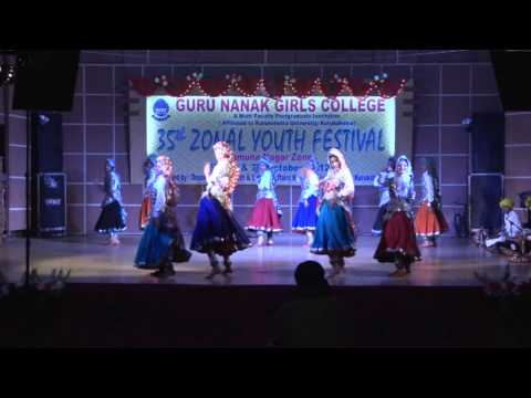 Haryanvi  Dance Perfomed By D.a.v. College For Girls,yamunanagar video