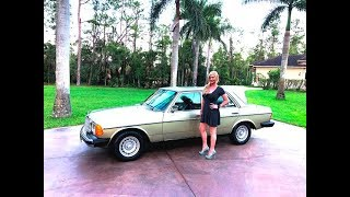 SOLD! 1980 Mercedes-Benz 300D W123 Review & Test Drive w/MaryAnn For Sale By: AutoHaus of Naples!