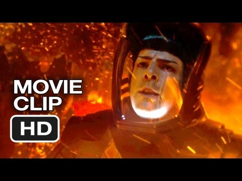 Star Trek Into Darkness Movie CLIP - Into The Volcano (2013) - Chris Pine Movie HD