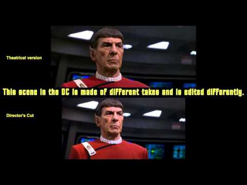 Star Trek VI - The Undiscovered Country - Theatrical Version Vs. Director's Cut