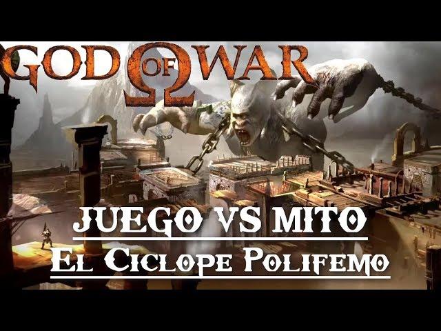 God of War || Juego VS Mito || El Cíclope Polifemo thumbnail