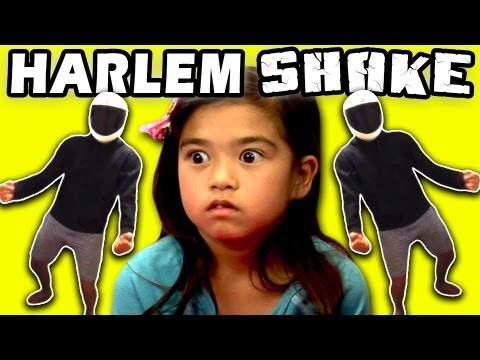 Kids React To Harlem Shake video