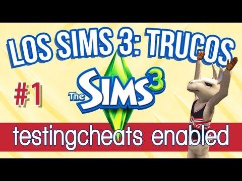 Los Sims 3 Trucos   Parte 1: Cómo usar testingcheatsenabled true (Cheats. consejos y trucos)