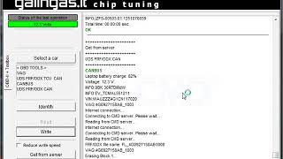 Audi A6 30tdi 230kw gearbox software update with CMD Flash tool