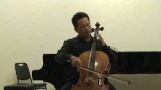 Bach Cello Suite No 1 vi Gigue -- 蔡寧