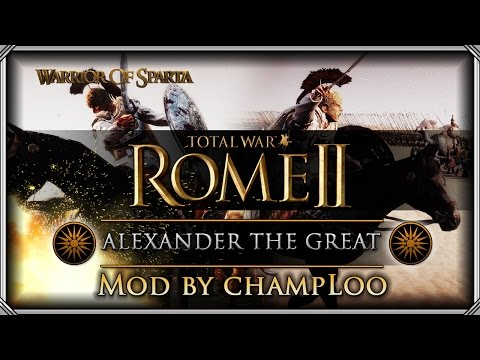Total War Rome Ii: Review Of Alexander The Great Mod By Champloo video