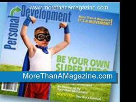 (Personal Development) Magazine, The Only One In The Market