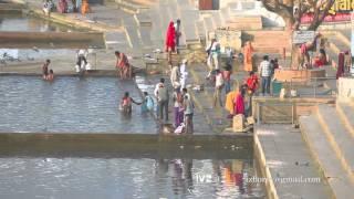 Pushkar lake ritual washing