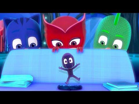 Герои в масках PJ MASKS | Кэтбой и крошка ниндзялино | мультики для детей