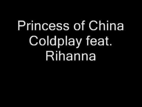 Princess Of China - Coldplay (lyrics) video