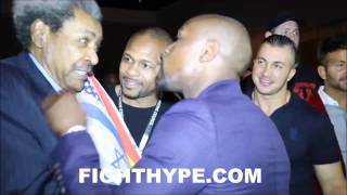 Epic Floyd Mayweather Shows Don King And Roy Jones Jr S100 Million Check King Jokes 34 Help Me 34