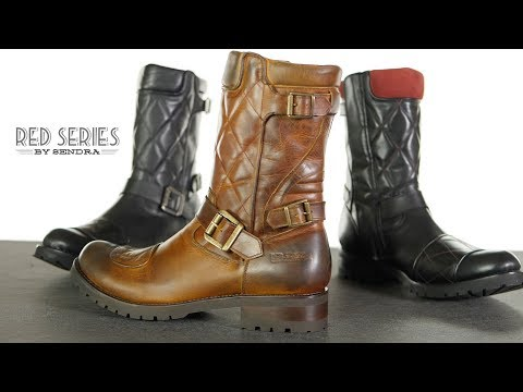 Sendra Red Series Krass Motorcycle Boots Review
