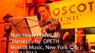TRIVIUM - Matt Heafy acoustic