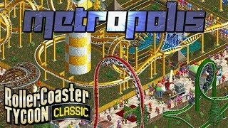 Skyscrapers / Metropolis | Rollercoaster Tycoon Classic | Time Twister | Let's Play!