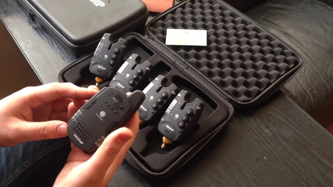 купить набор сигнализаторов поклевки fa211-4 с пейджером 4+1
