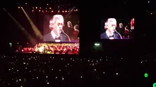 Andrea Bocelli - Con Te Partirò (Time To Say Goodbye) ft. Maria Aleida - São Paulo 13-Out-2016