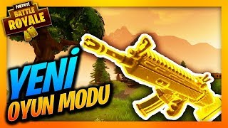 YENİ OYUN MODU GELDİ ! FORTNITE BATTLE ROYALE + SOM ALTIN - (NEW MODE)