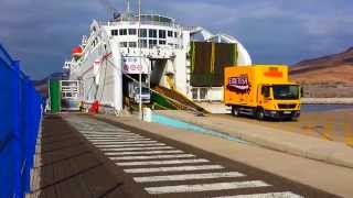 Fuerteventura Ferry Docking In Morro Jable