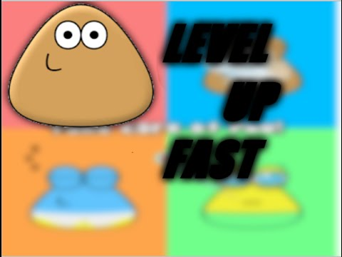 How to level up fast on pou!(proof video included)