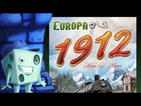 Ticket to Ride Europe 1912 Expansion - with Tom Vasel