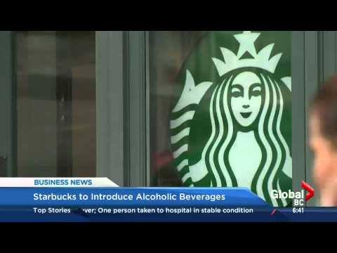 BIV on Global BC: Starbucks to serve beer