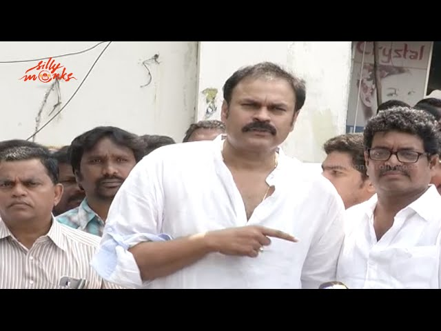 Actor Nagababu Speech @ MAA 2015 Elections Voting
