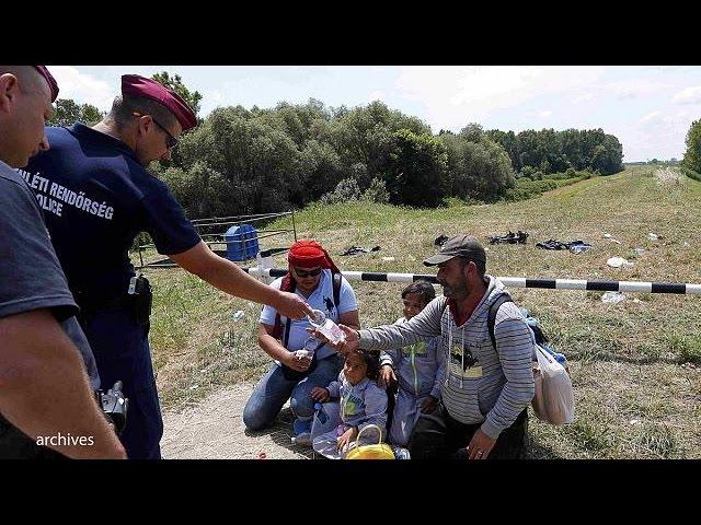 حصارکشی مرز مجارستان با صربستان قانونی شد